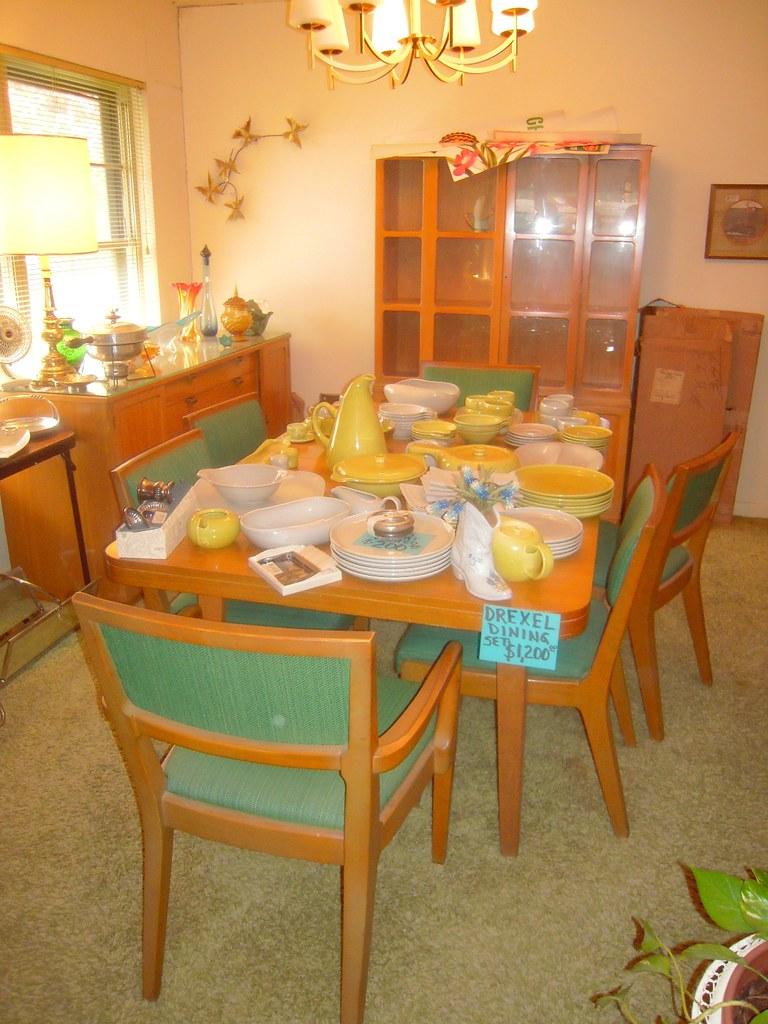 1950s Drexel Dining Room Set Dining Room Set In Estate