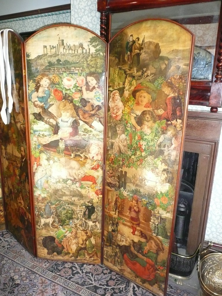 Victorian Modesty Screen In The Front Bedroom Of No2 Rave Flickr