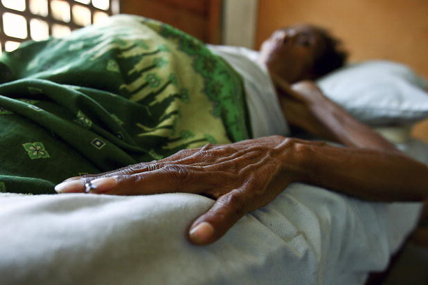 HIV/AIDS Patient in Hospital