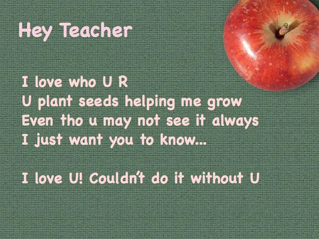 Teacher 001