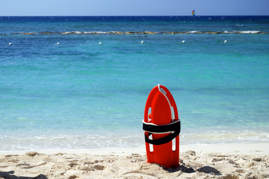 Jamaica Lifeguard Buoy I Love That The Universal Sign