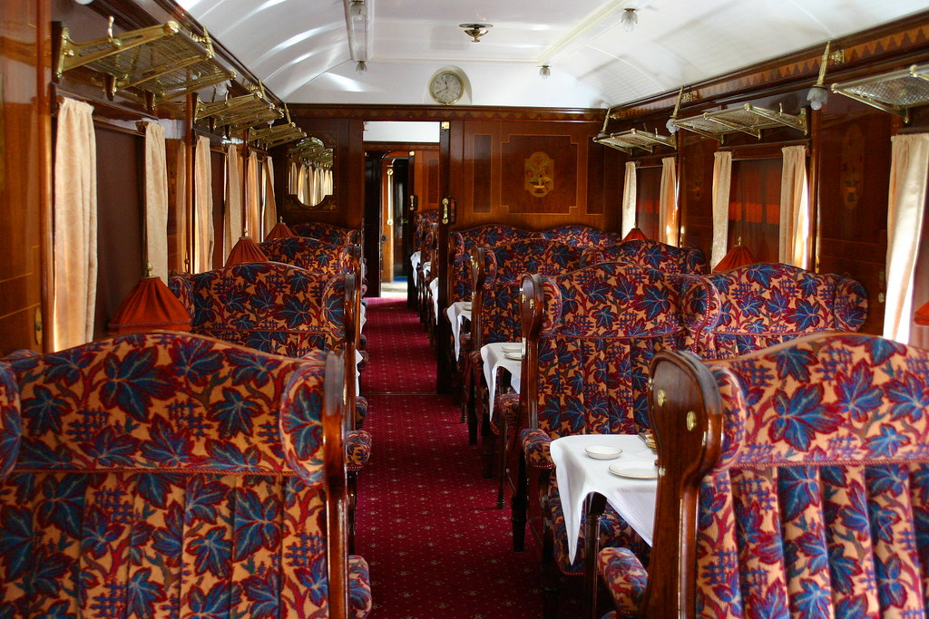 Pullman Car Christine The Newly Restored Interior Of