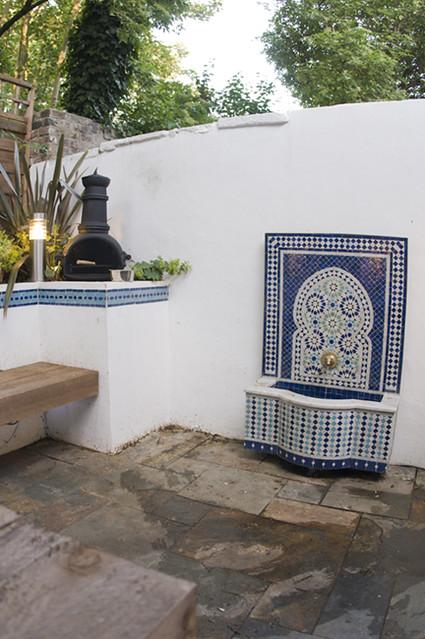 The Moroccan Courtyard Garden by Earth Designs. www.earthd ... on Moroccan Backyard Design  id=44409