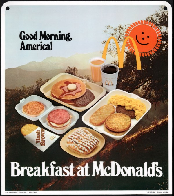 McDonald's - Plastic Signage - Good Morning America Breakf ...