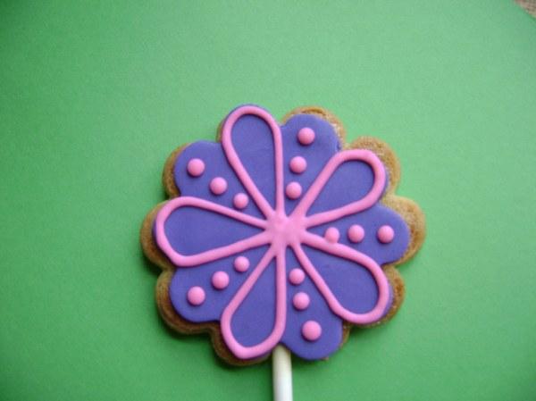 Flower Cookie Stick | Michelle Schutten | Flickr