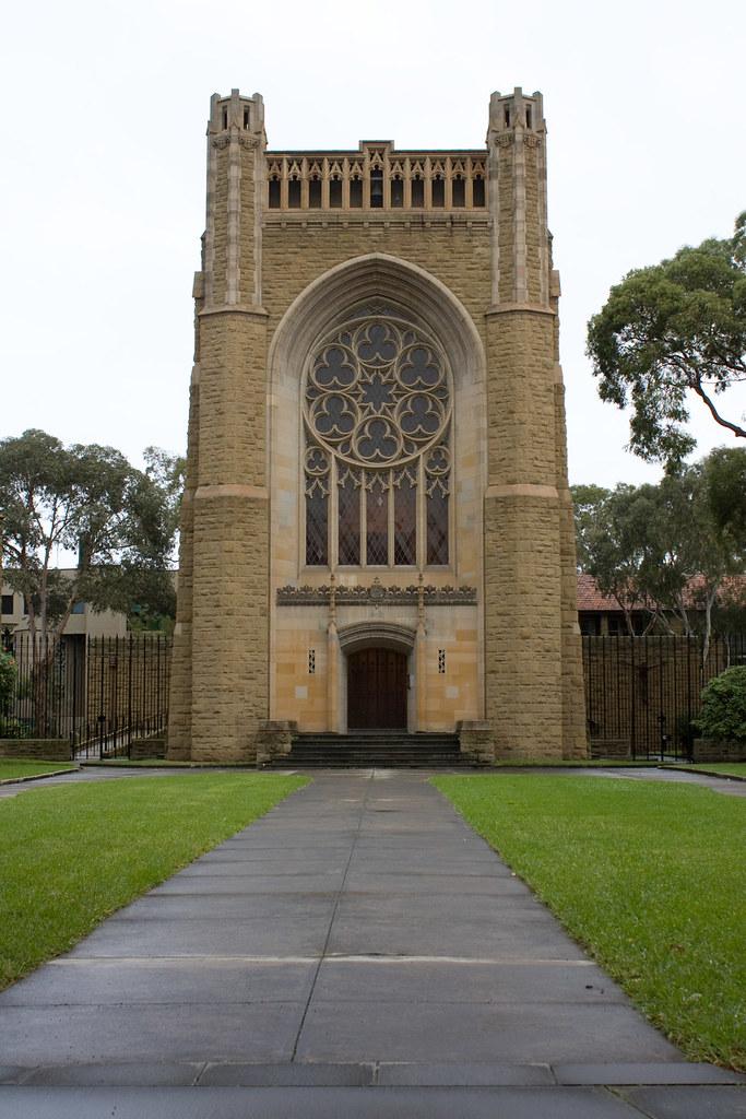 Newman College Chapel Melbourne University Melbourne Aus