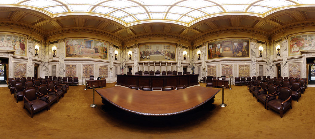 Supreme Court Room My First Fully Spherical Panorama It