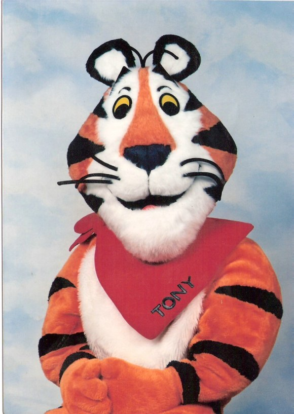 What I Got When I Mailed Tony The Tiger An Autograph Request