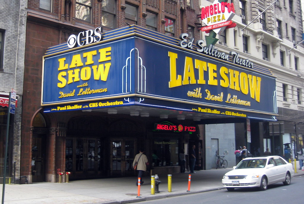 NYC Ed Sullivan Theater The Ed Sullivan Theater Located Flickr
