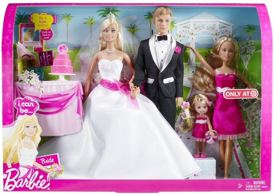 Exclusive Target Barbie I Can Be Bride Set