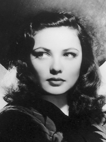 I imagine that Phaidra looks quite a bit like this photo of classic actress and beauty, Gene Tierney