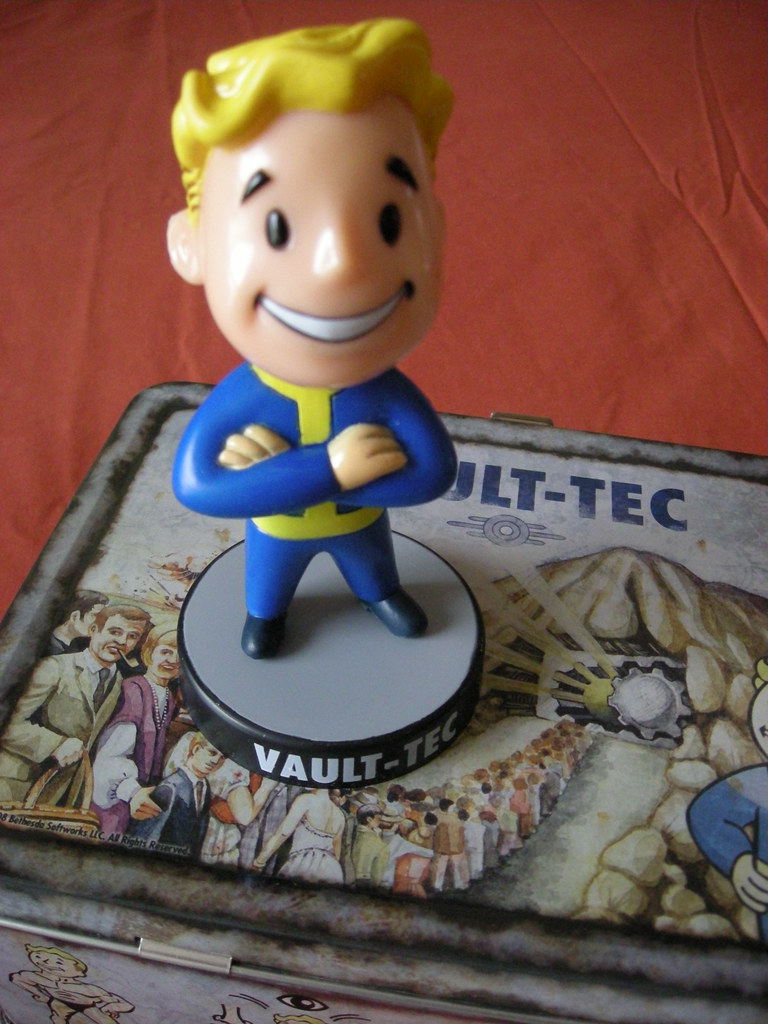 Vault Boy Vault Boy Is An Advertising Character For The