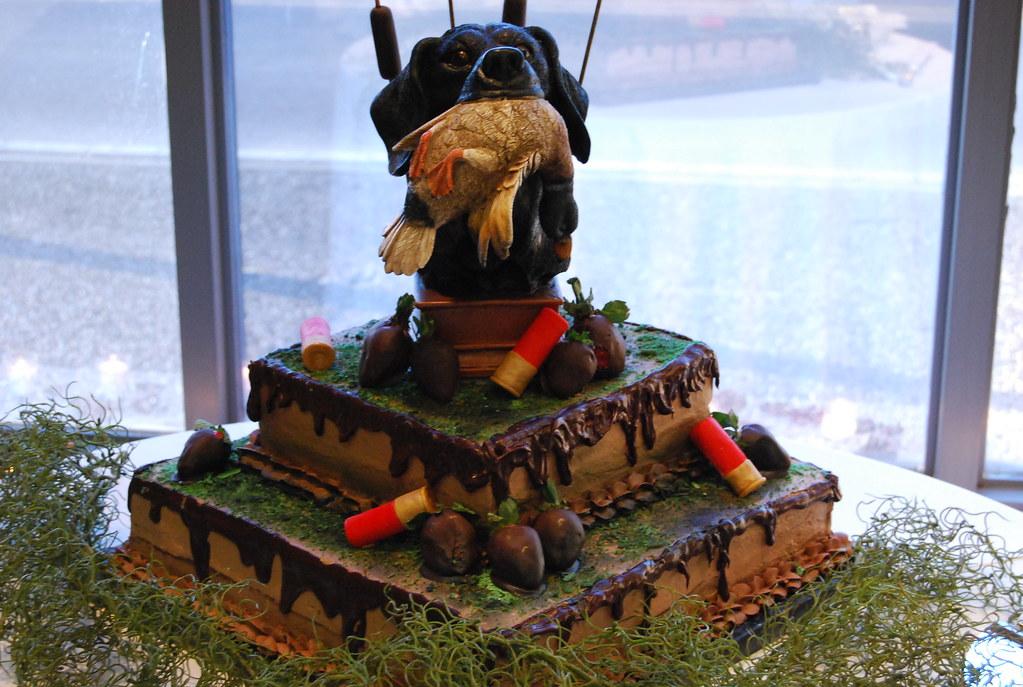 Duck Hunter Grooms Cake Chocolate Cake With Chocolate