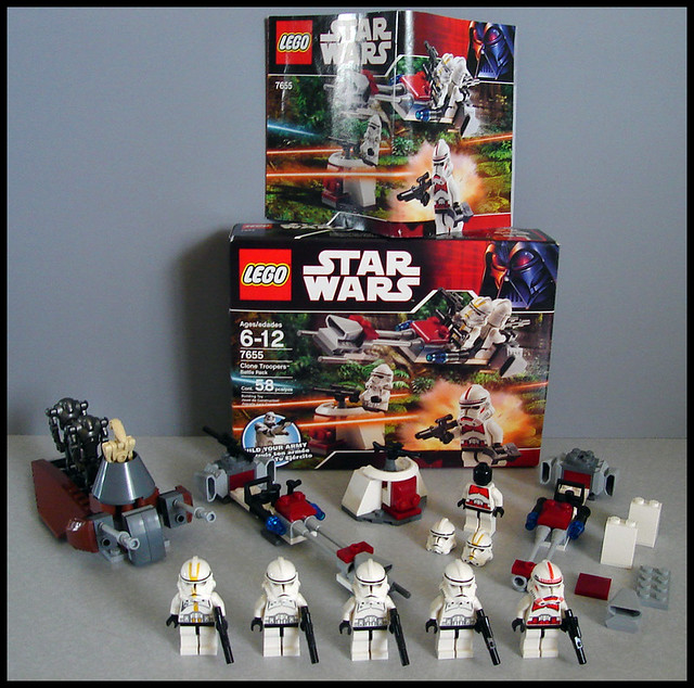 Lego Star Wars 7655 Amp 7654 Matty C Flickr