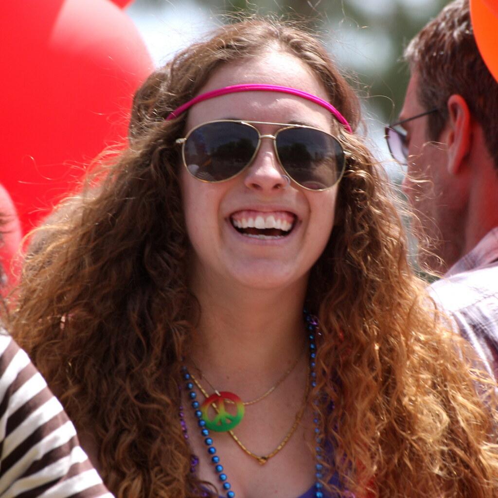 Hippy At Phoenix Gay Pride Parade Hippy At Phoenix Gay
