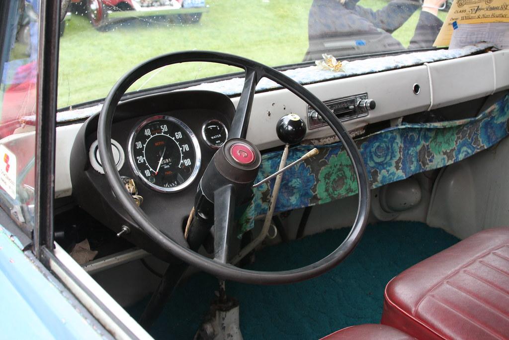 1964 Commer Van Interior 1964 Commer Van Dave7 Flickr