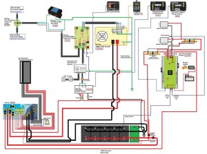 Sterling Power Components Wiring Diagram v2   Basic layout