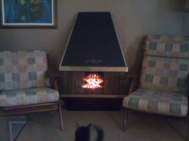 Vintage Electric Fireplace Konajojo Flickr