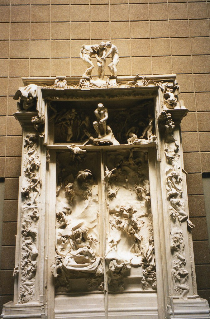 The Gates of Hell   La Porte de l Enfer  by Auguste Rodin      Flickr     Gates of Hell   La Porte de l Enfer  by Auguste