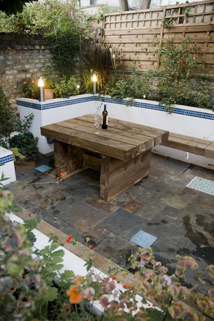 The Moroccan Courtyard Garden by Earth Designs. www.earthd ... on Moroccan Backyard Design  id=59441