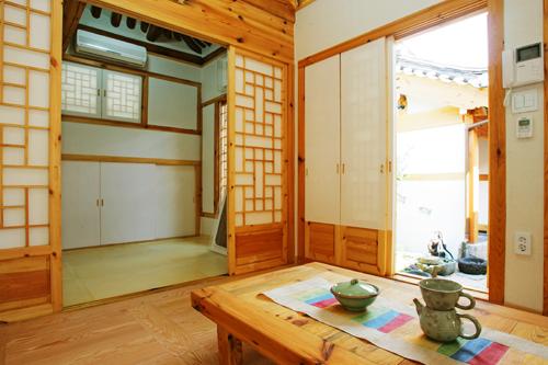 Inside Of Mangyeongjae A Hanok In Bukchon Courtesy Of