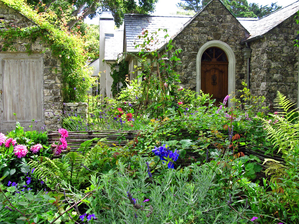 The Cottage Garden Is A Distinct Style Of