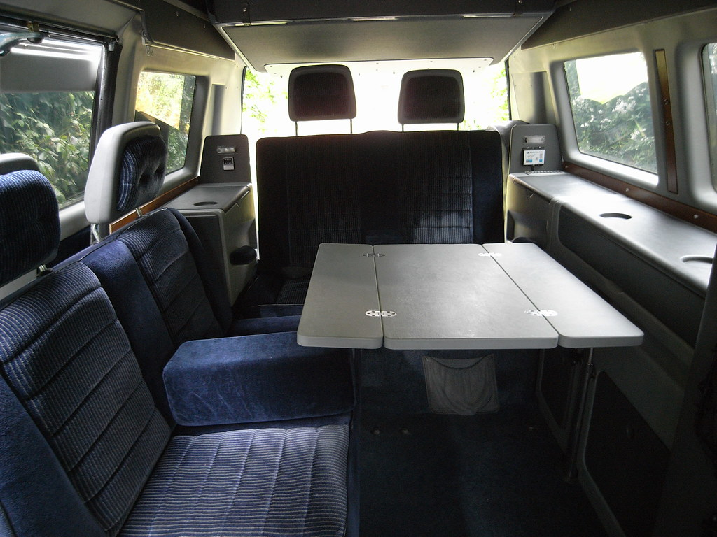 Interior Table VW T3 Dehler Profi Paul McNally Flickr