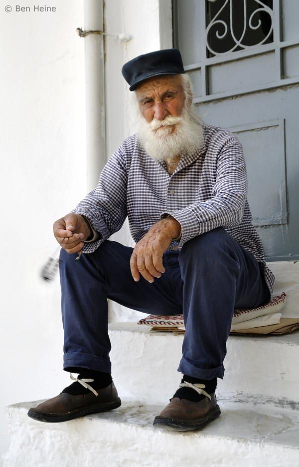 Old Man With Komboloi 169 Ben Heine Facebook Twitter