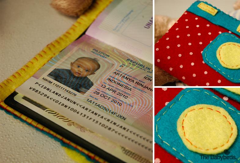Melon's Passport Wallet