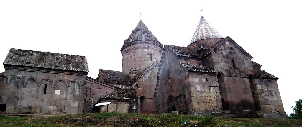vista de Monasterio de Goshavank Armenia 02