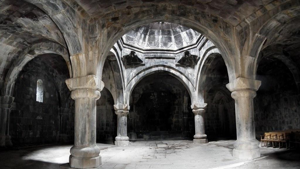 Hamazasp interior Monasterio Haghpat Armenia Patrimonio Humanidad 18