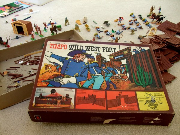 Timpo Wild West Fort While down south I had a clear out