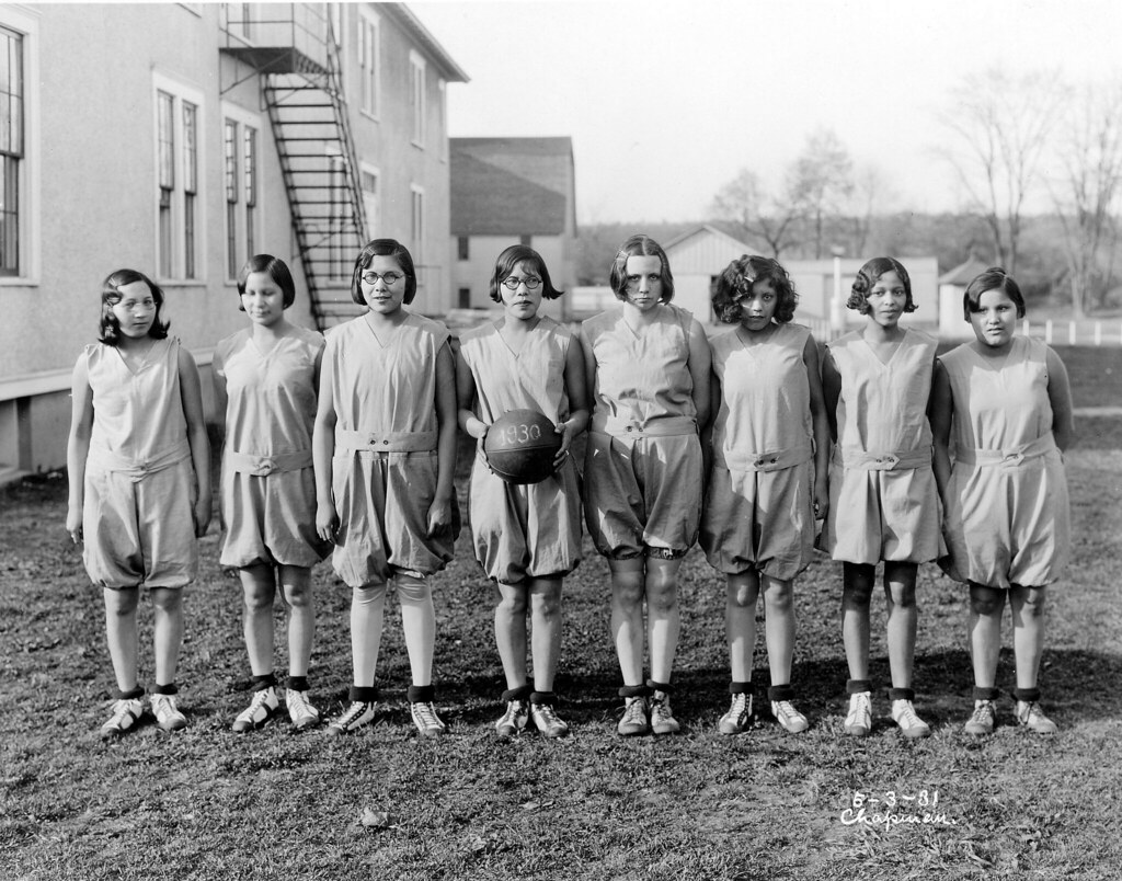 Girls Basketball Team Thomas Indian School Date Of