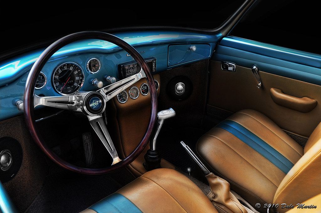Karmann Ghia Interior Dale Martin Flickr