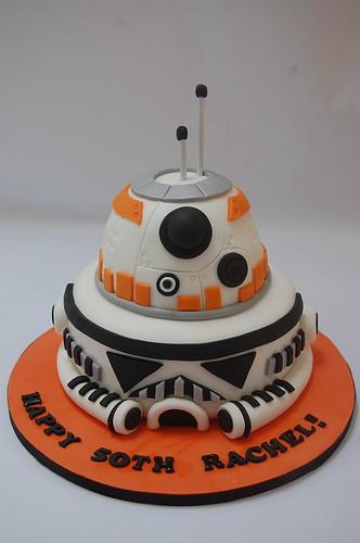 Bb8 And Stormtrooper Cake Beautiful Birthday Cakes
