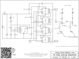 16 step sequencer schematic | 16 step sequencer circuit