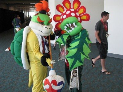 Bowser Jr And Piranha Plant Costumes 400x300