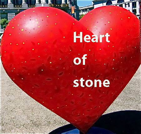 Heart Of Stone A Metaphor Theme One Of The Many Hearts