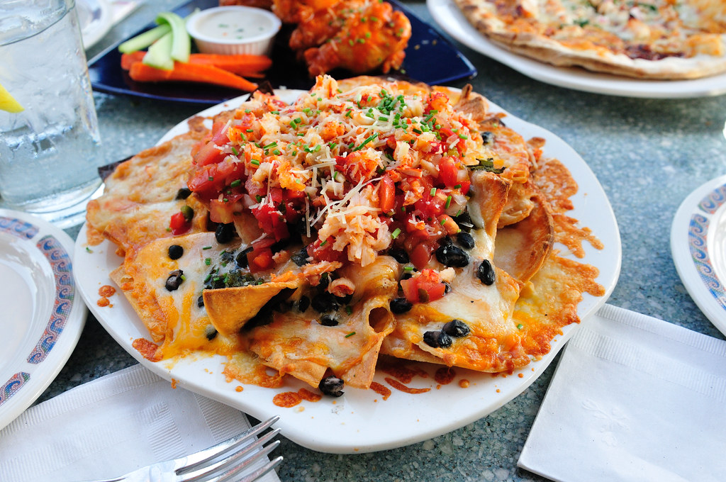 Lobster Nachos Cove Bar Featured On LA Foodie