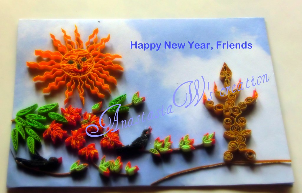 New Year Greetings Anastasia Annie Wahalatantiri Flickr
