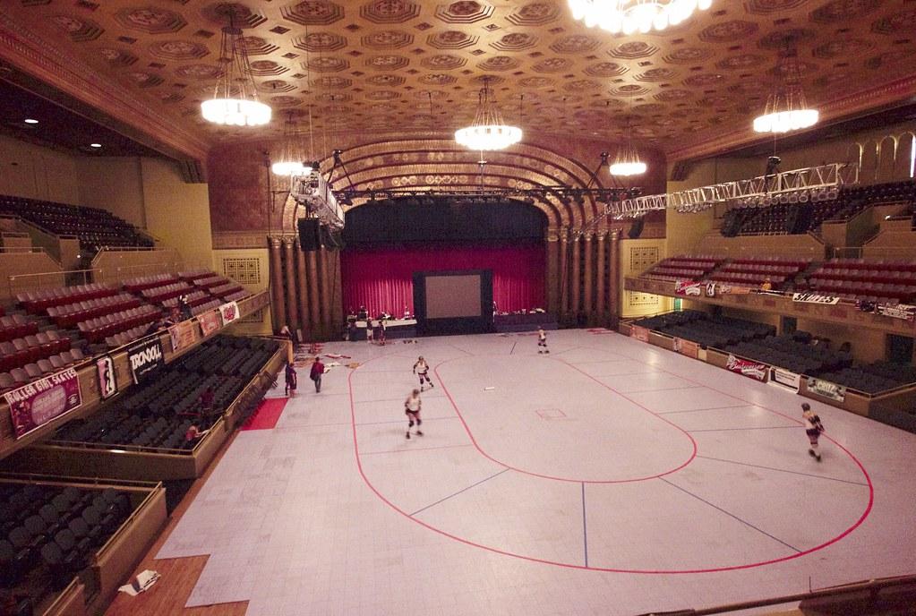 The Sacramento Memorial Auditorium As A Venue For Roller D Flickr