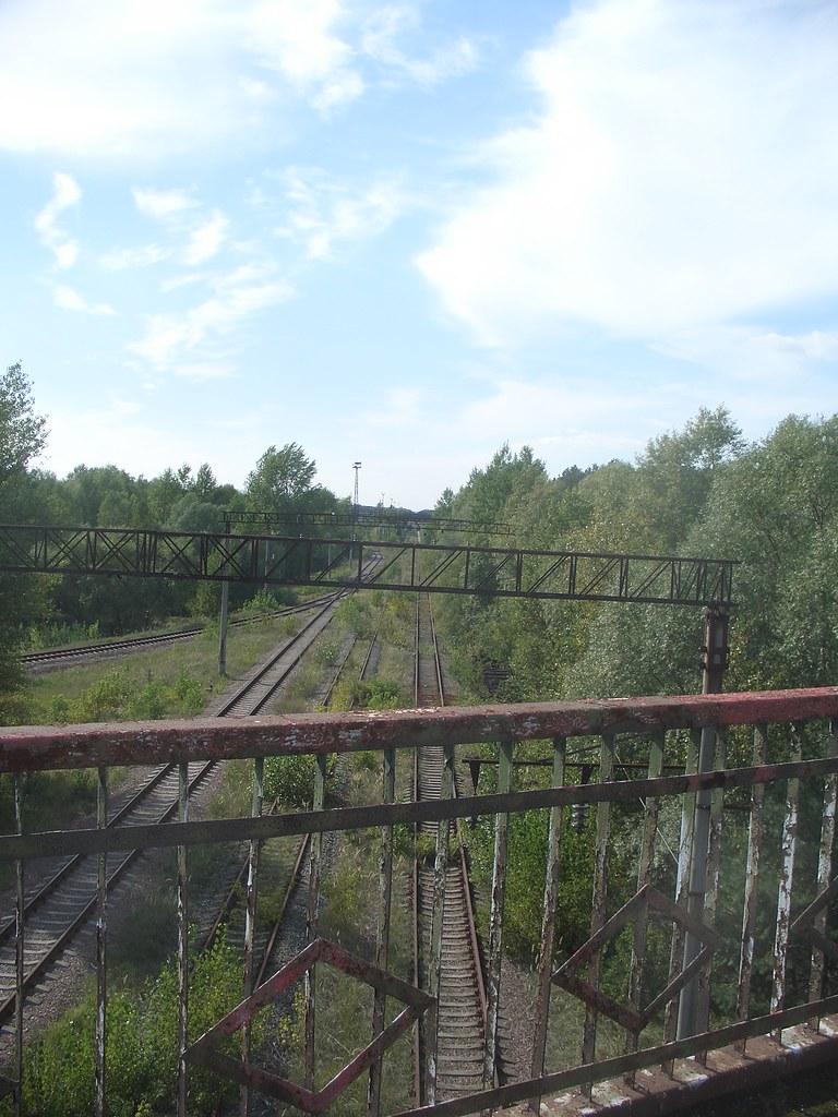 Railway Under Quot The Bridge Of Death Quot Near Pripyat Chernob