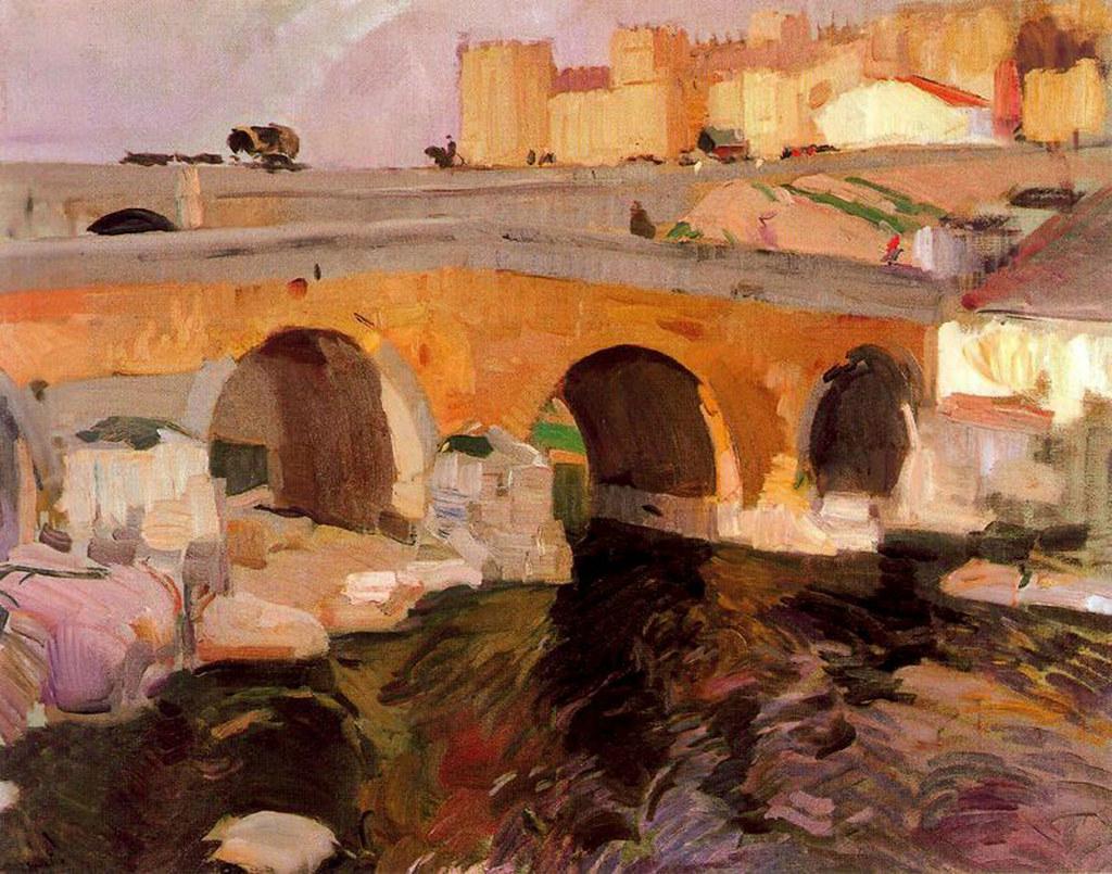 Quot El Puente Viejo De 193 Vila Quot Joaqu 237 N Sorolla Joaqu 237 N