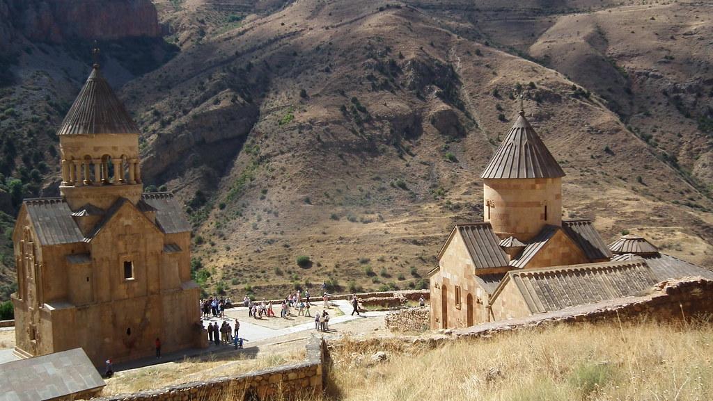 Vista del Monasterio Noravank de Amaghu Armenia 10
