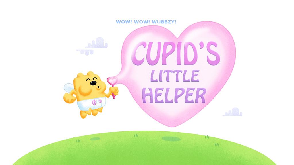 Cupids Little Helper Title Card Wow Wow Wubbzy