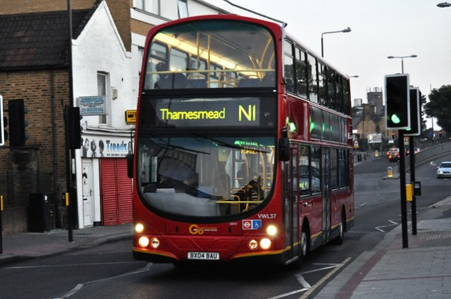 London Central VWL37 on N1
