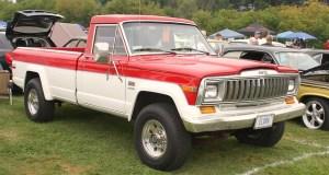 1978 Jeep J20 | Car Interior Design