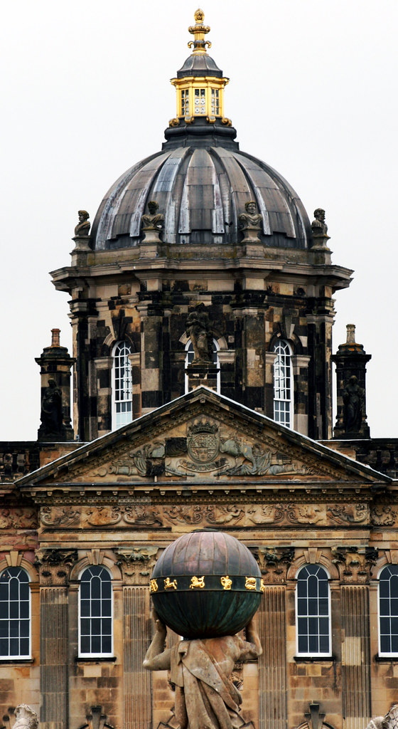 Castle Howard Dome 1 The Dome Of The Main House At