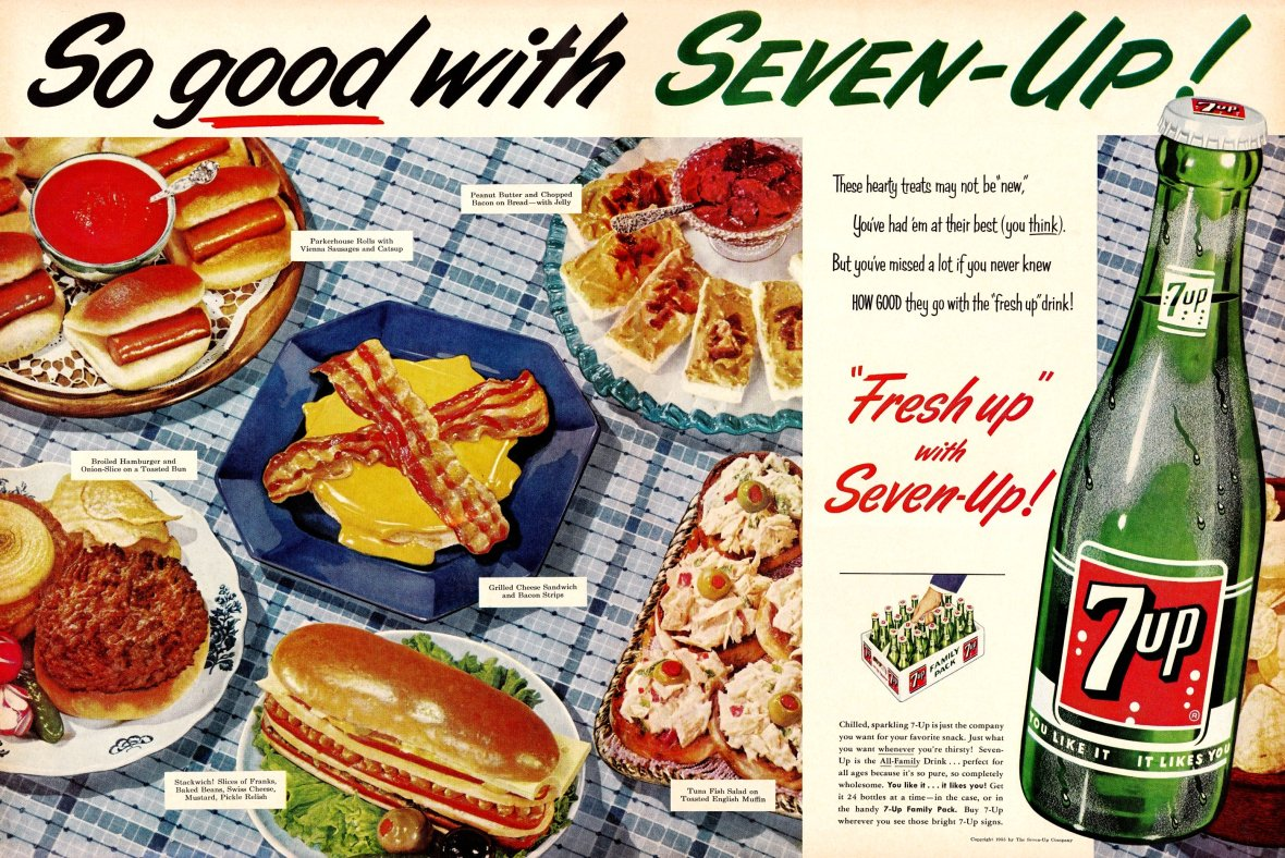 The Seven-Up Company - published in Life - February 7, 1955