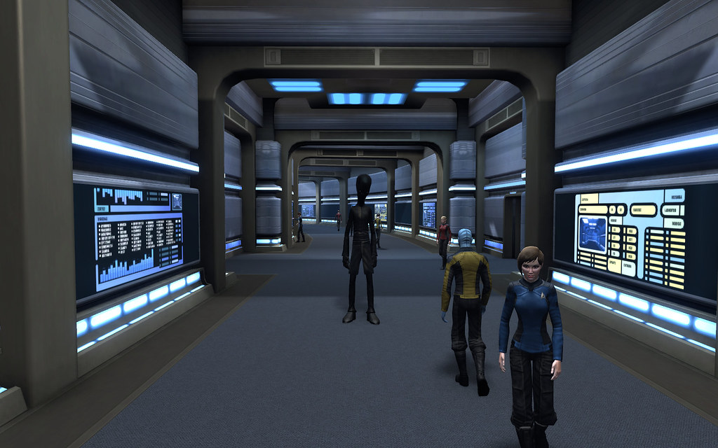 Star Trek Online Season 2 Ship Interiors Saucer Section C
